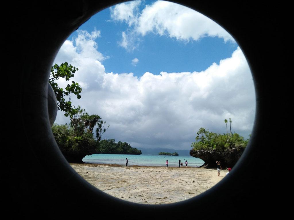 Pantai Meleura di Kecamatan Lohia, Muna