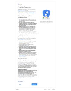 Privasi dan persyaratan, Cara membuat email gmail