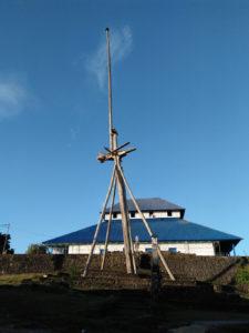 tiang bendera (Kasulana Tombi), Benteng Wolio Baubau
